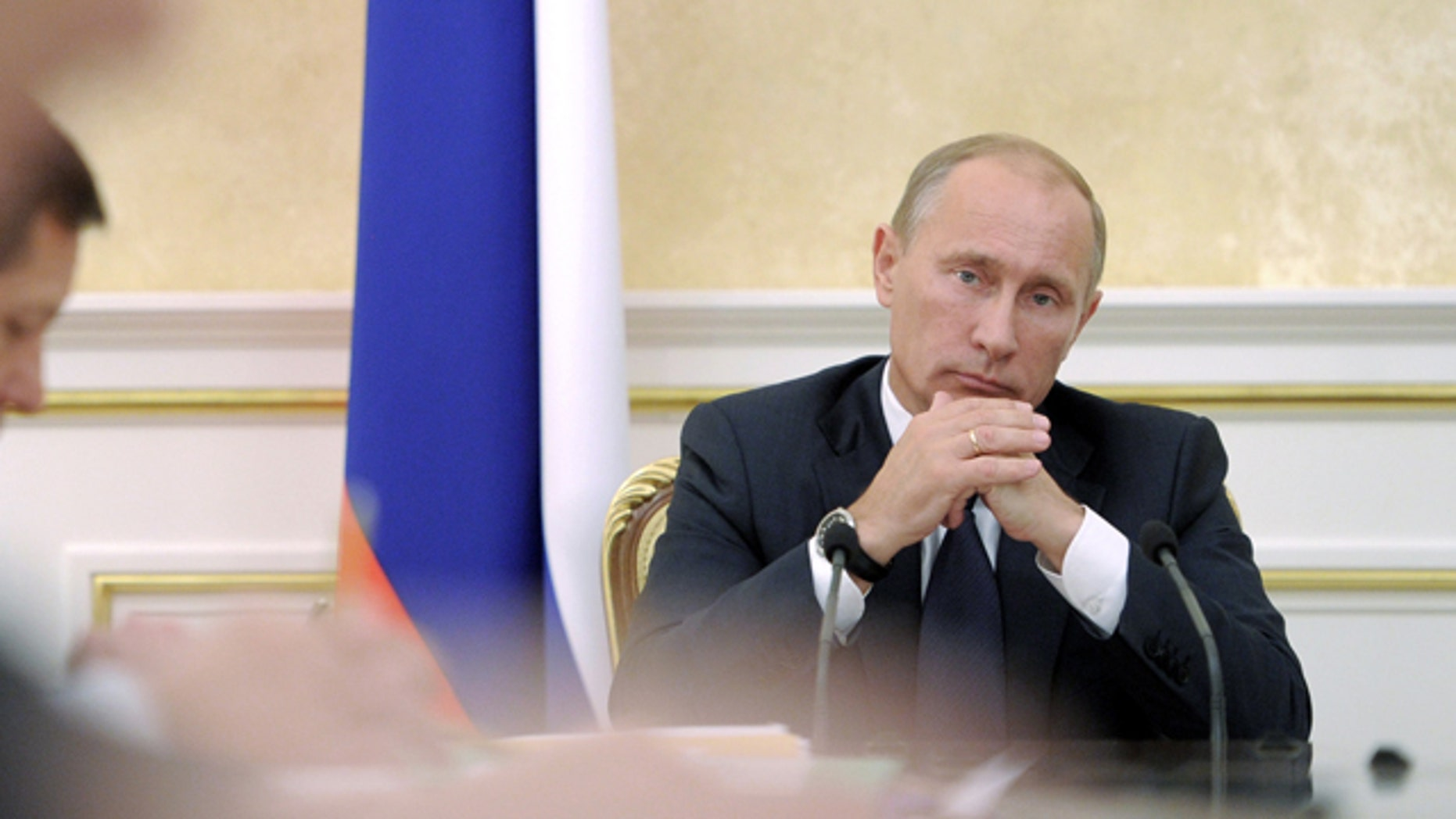 Sept. 27: Russian Prime Minister Vladimir Putin chairs a Cabinet meeting in Moscow.