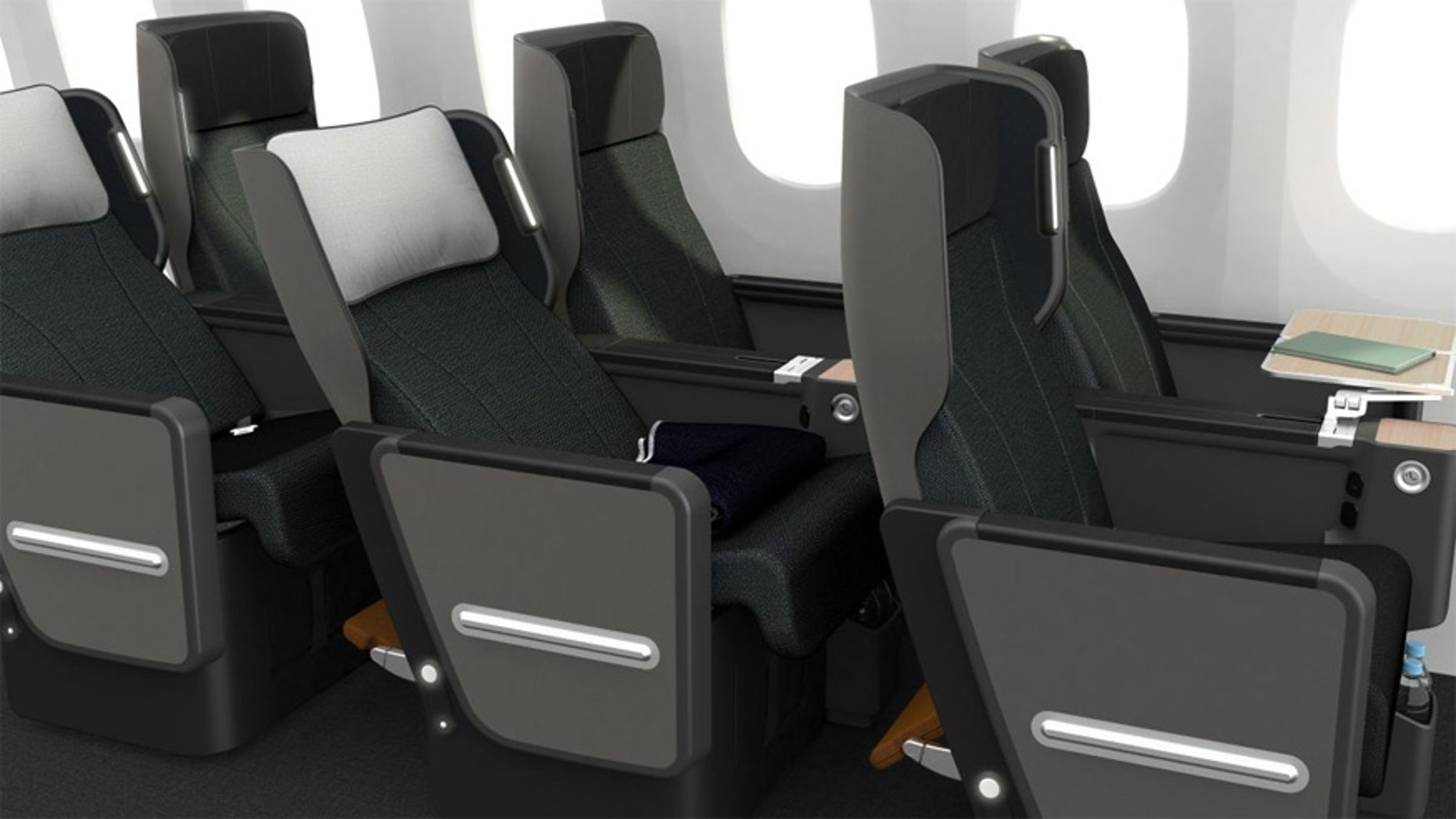 Qantas' next generation of Premium Economy seat will debut on the airline's 787-9 Dreamliners.