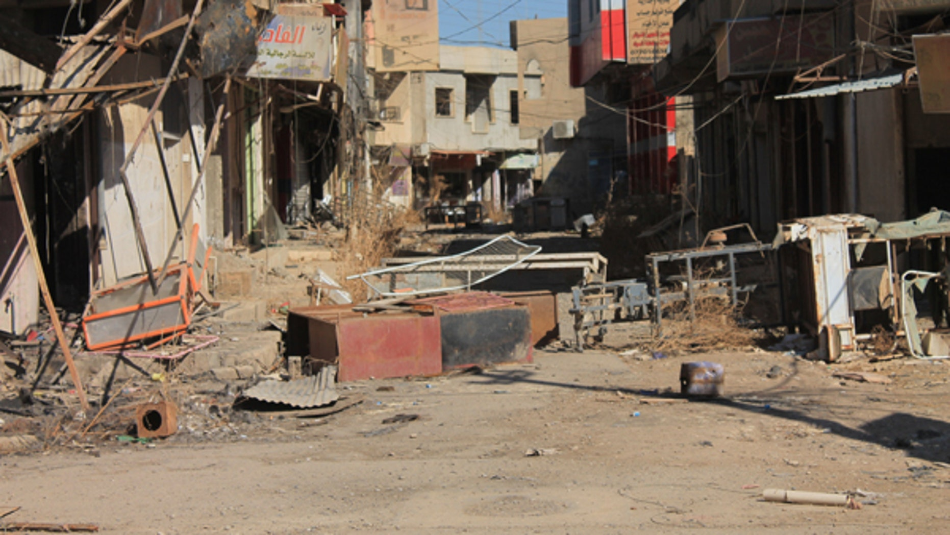 Qaraqosh, Iraq saw part of the destruction made by ISIS of the Christian villages in the Nineveh Plain.