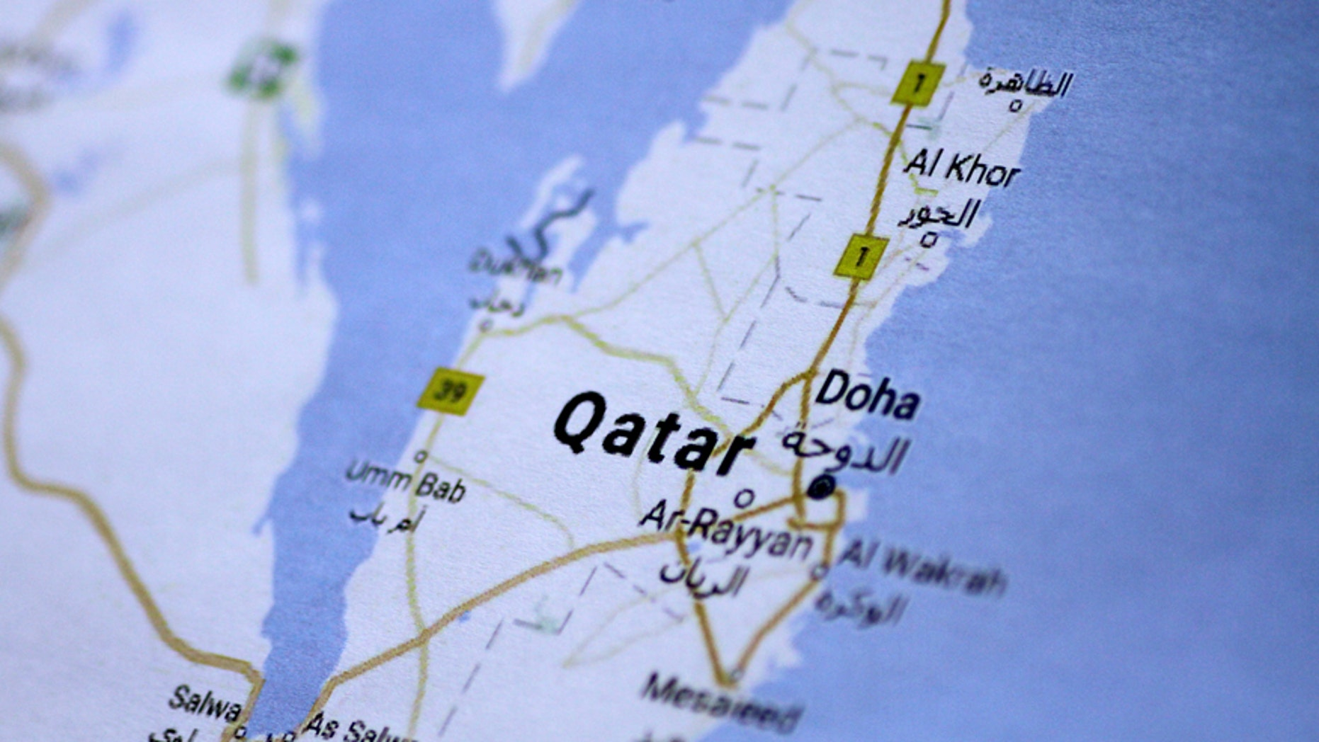 President Trump Tell Terror Supporting Qatar It Can Kiss Our Us Air - Map-of-us-air-bases
