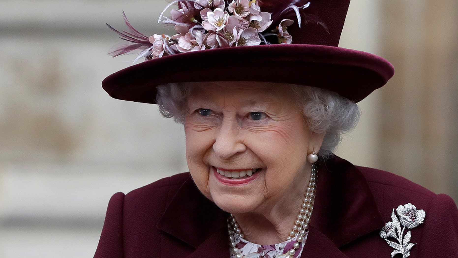 Britain's Queen Elizabeth leaves after attending the Commonwealth Service at Westminster Abbey in London, Britain  March 12, 2018.