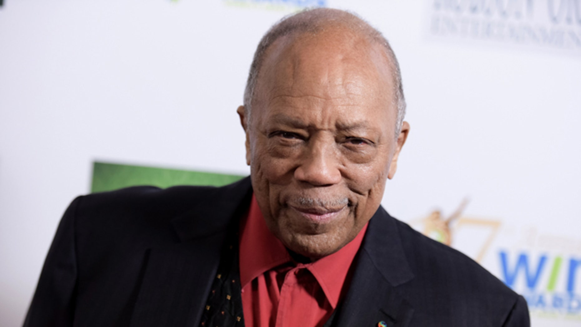 Feb. 10, 2016. Quincy Jones arrives at the 17th Annual Womens Image Awards held at Royce Hall, in Los Angeles.