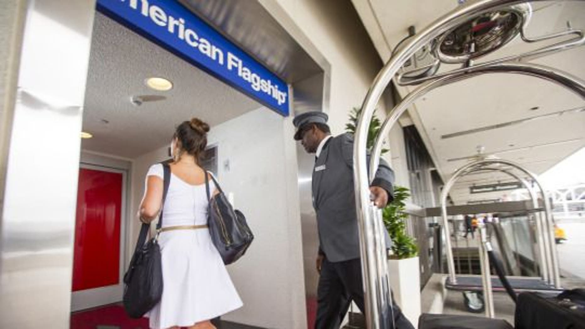 High-end flyers discretely use a dedicated, red-carpeted entrance at LAX.