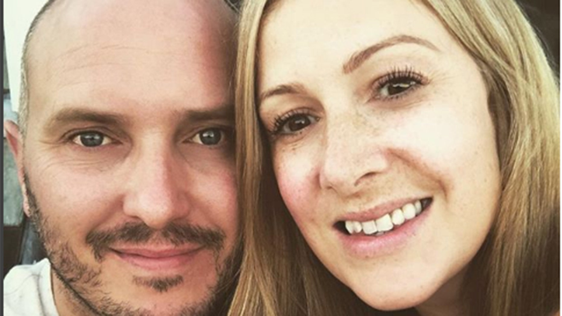 BBC newsreader Rachael Bland, right, lost her battle with breast cancer.