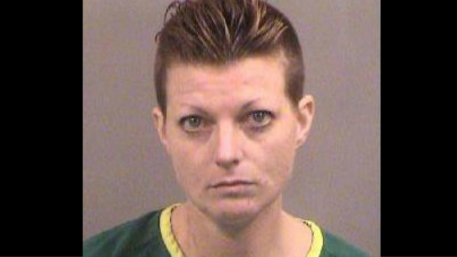 Rachael Hilyard, 35, is accused of killing her ex-boyfriend's grandmother on Sunday. (Sedgwick County Jail)