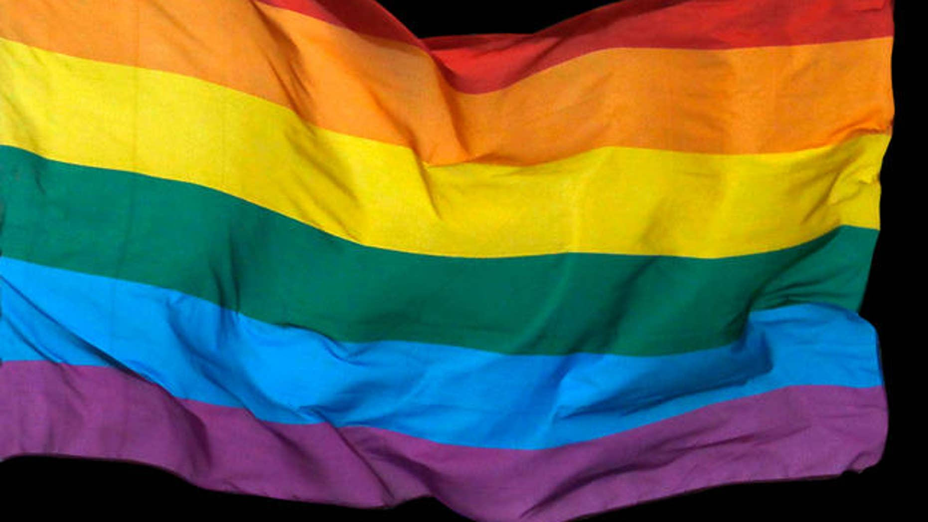 The Richmond Federal Reserve Bank's decision to fly the gay pride flag outside of its building below the American flag has stirred outrage among at least one Virginia lawmaker who wants it removed. (AP)
