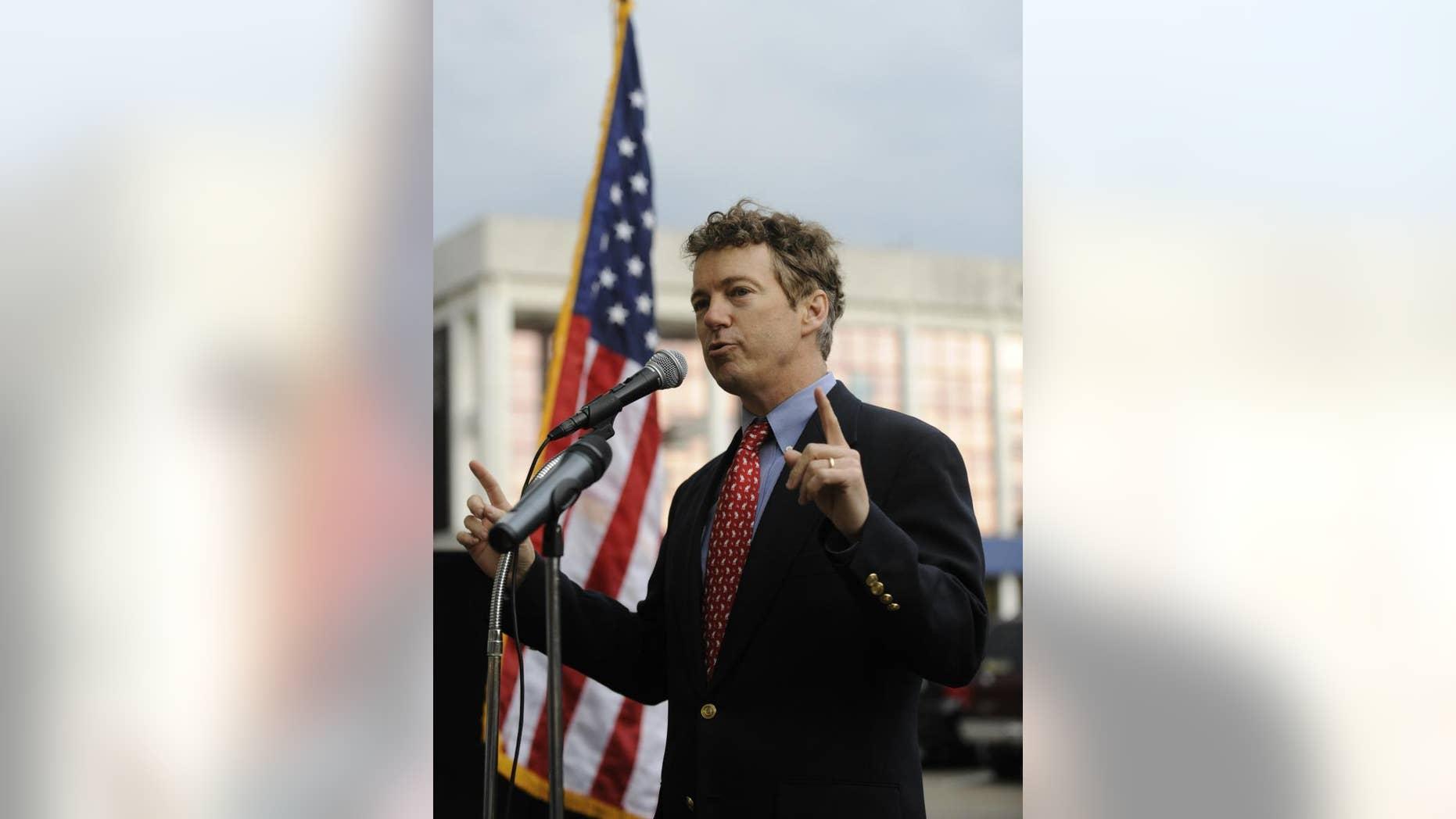 Sen. Rand Paul, R-Ky. (AP File Photo)