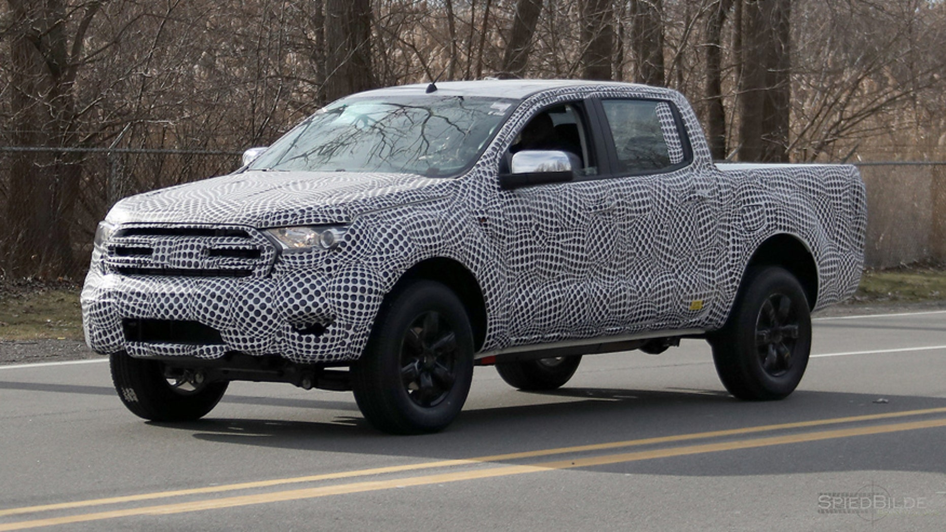 Potential 2019 Ford Ranger Raptor Spied Fox News