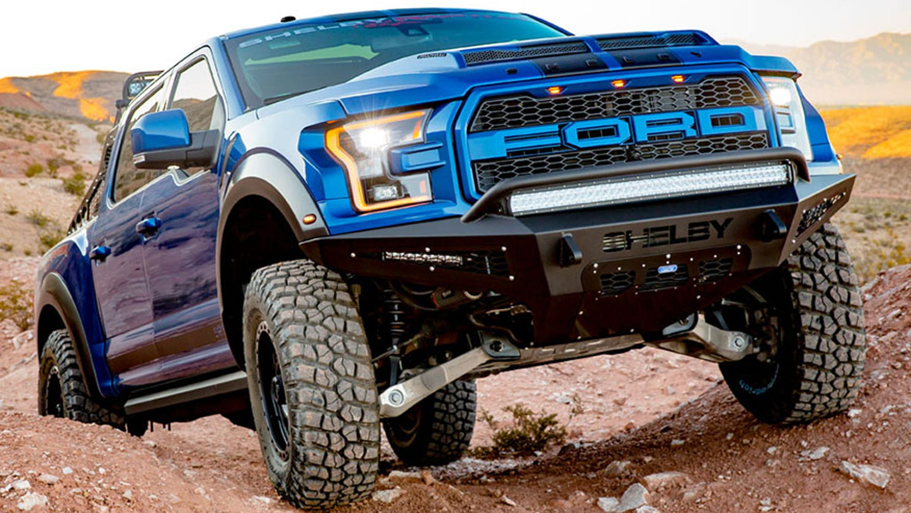 2018 ford shelby raptor roars with 525 horsepower