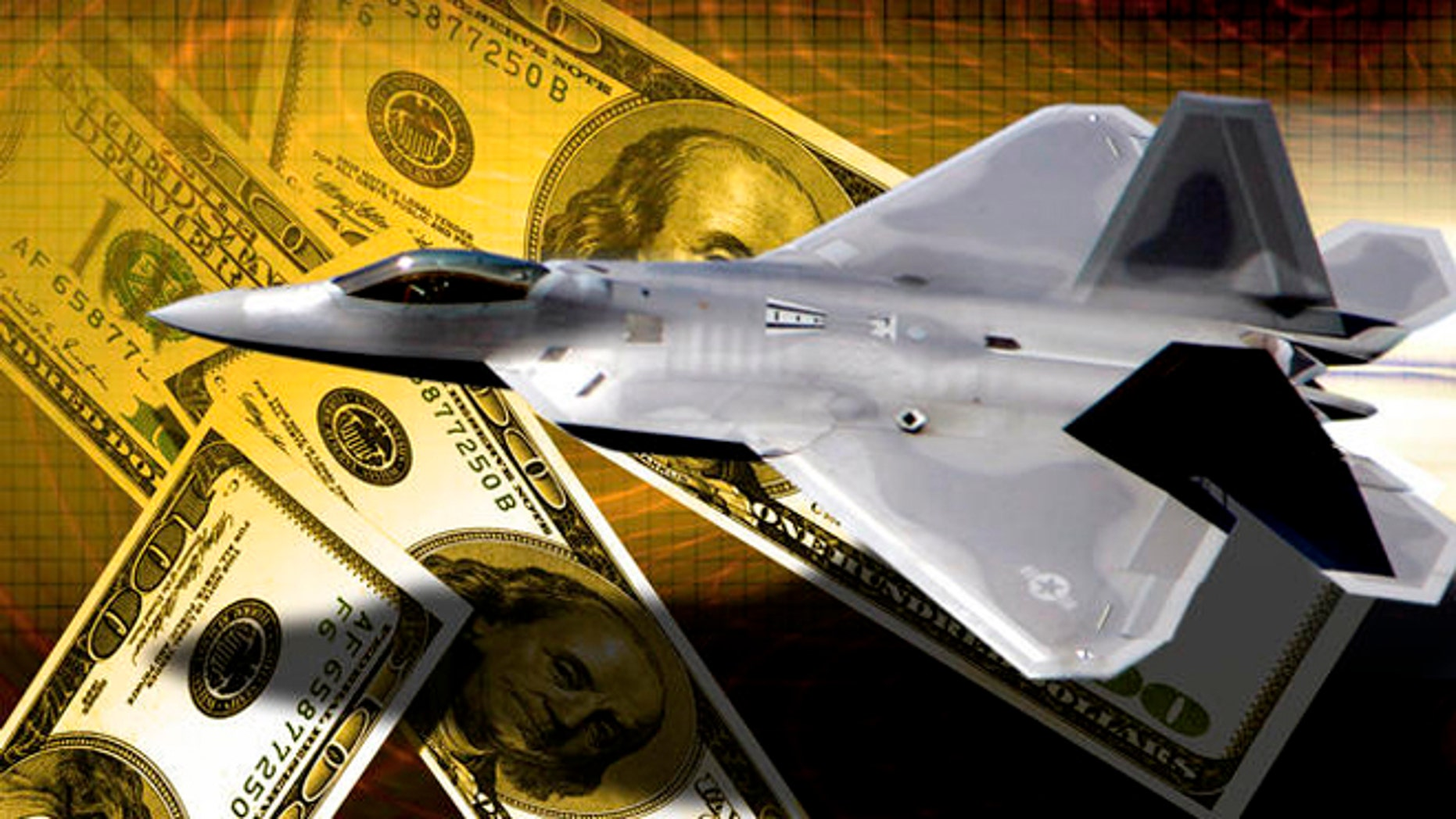 Shown here is a graphic of the Lockheed Martin F-22 Raptor.