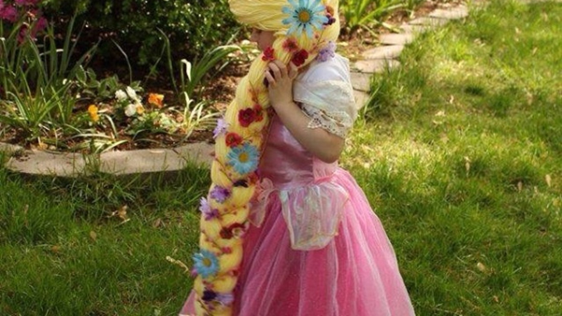 """""""The Magic Yarn Project"""" creates Disney princess wigs for children battling cancer."""
