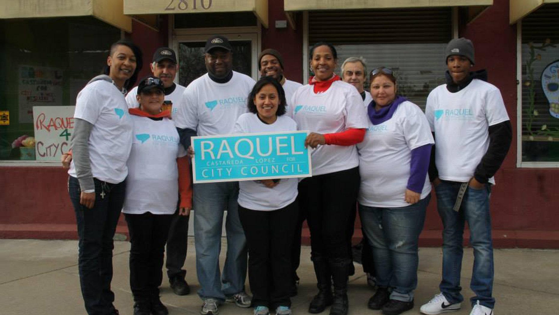 Raquel Castaneda-Lopez, Detroit's first Hispanic City Council member
