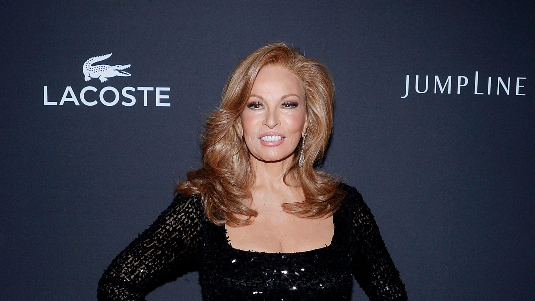 Actress Raquel Welch arrives for the 16th Costume Designers Guild Awards in Beverly Hills, California February 22, 2014.