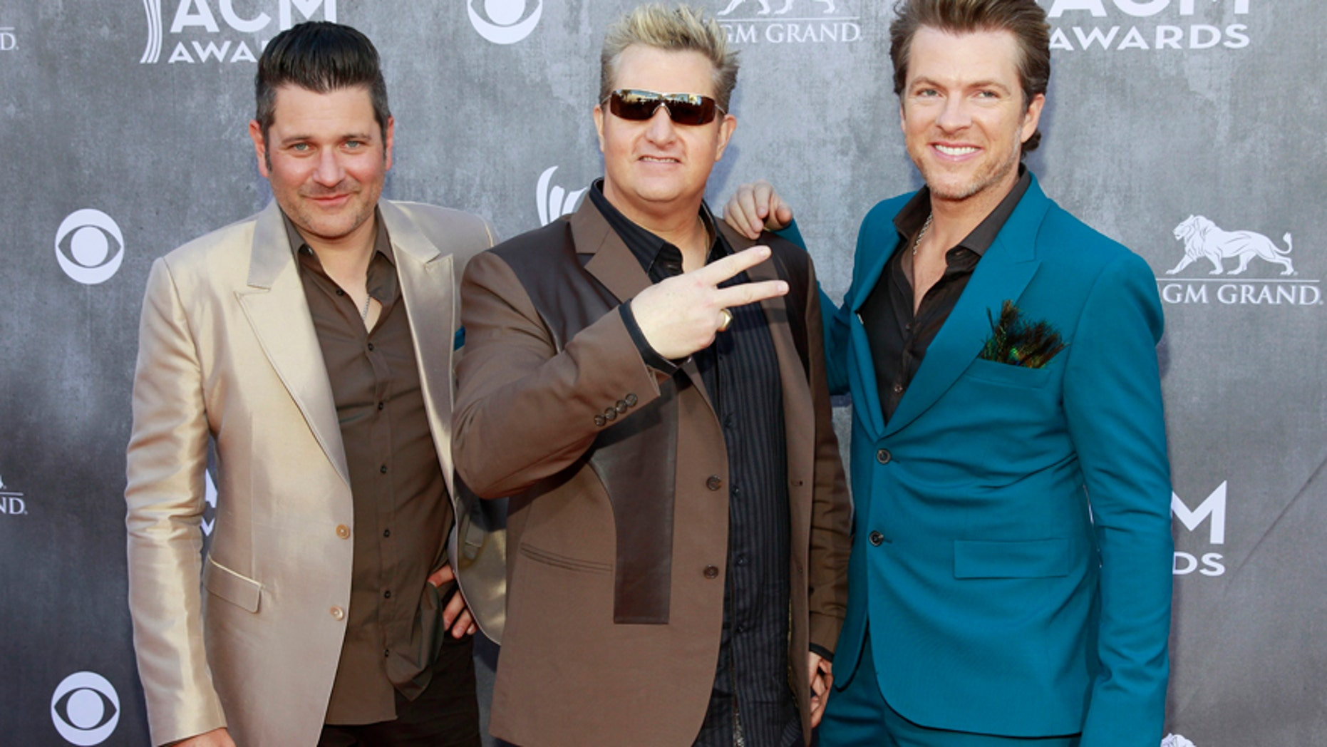 (L-R) Jay DeMarcus, Gary LeVox and Joe Don Rooney of the group Rascal Flatts brought in a cool $27 million this year.