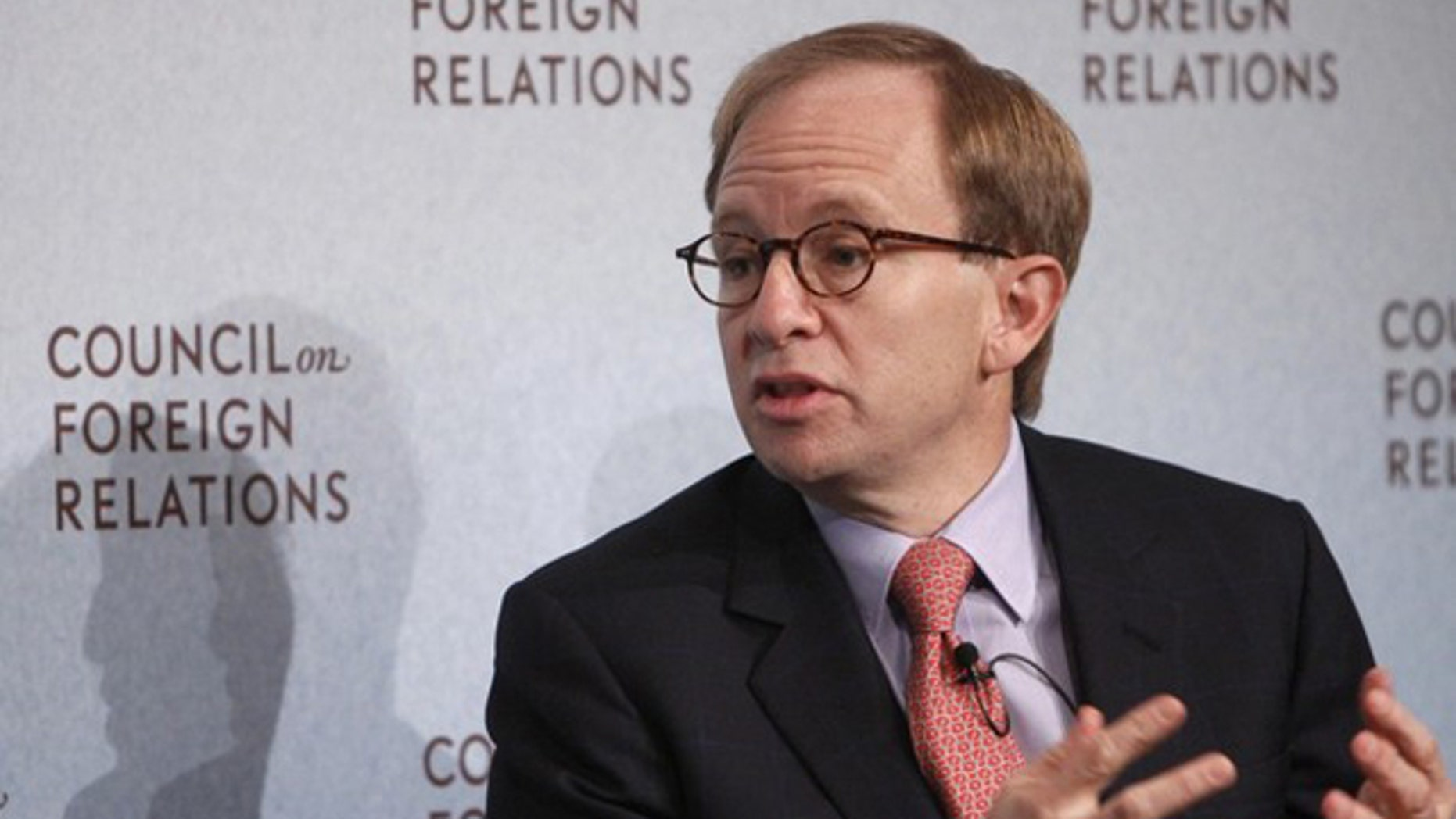 Steven Rattner, Former Head of U.S. Treasury Department's Auto Task Force, speaks at the Council on Foreign Relations in New York, November 19, 2009. (Reuters)