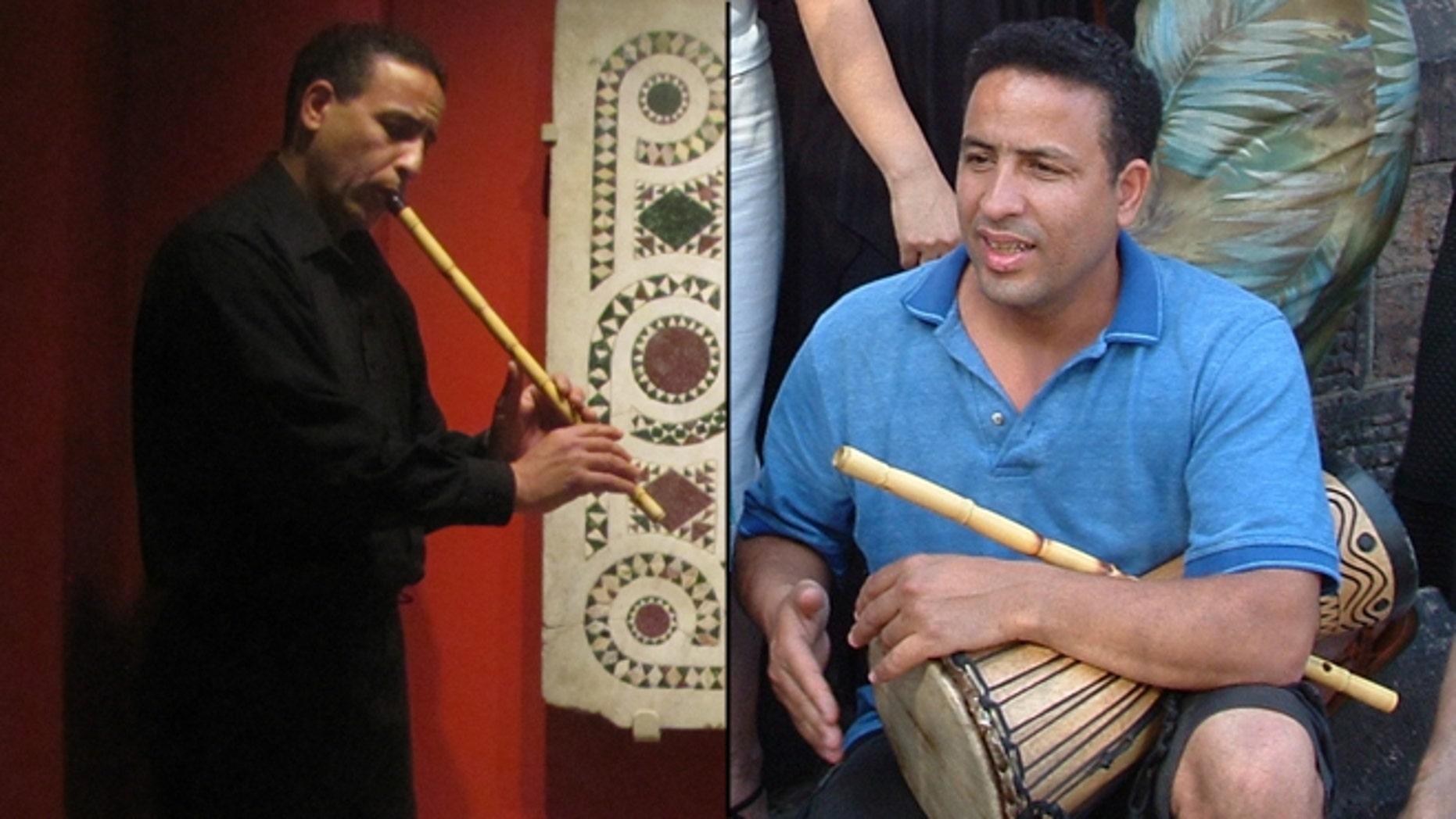 Shown here is musician Boujemaa Razgui.