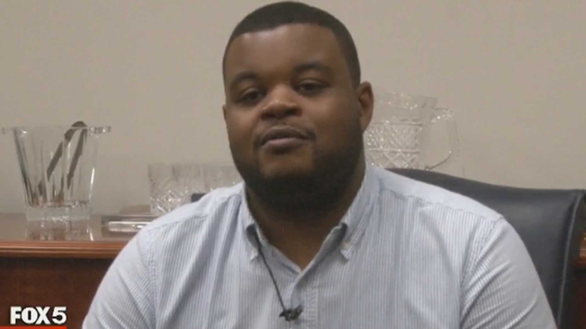 Daeontae Smith, a 911 dispatcher, was reportedly credited with saving a woman's life who was being assaulted.