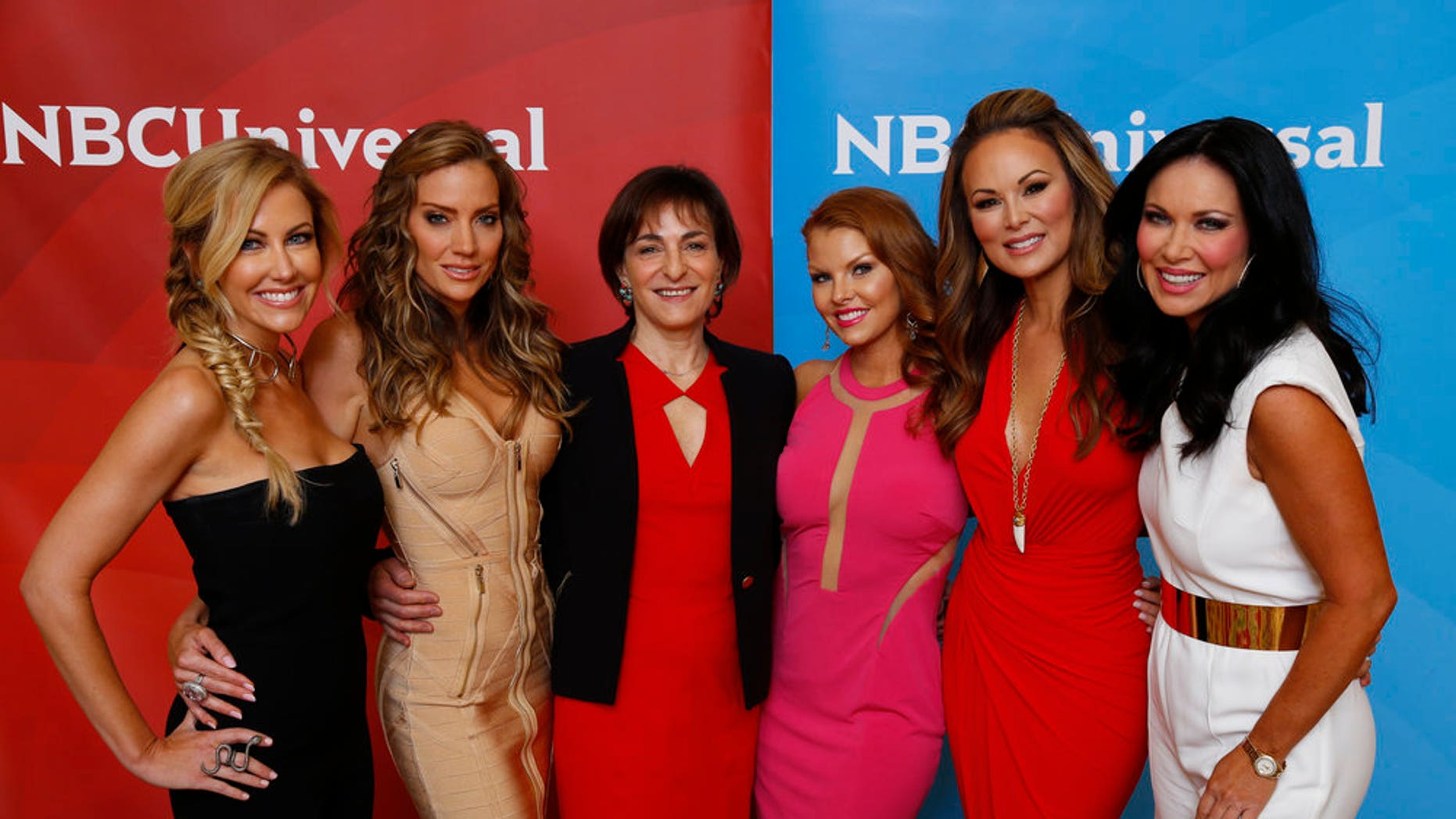 """""""The Real Housewives of Dallas"""" (left-rright) Stephanie Hollman, Cary Deuber, Shari Levine, Executive Vice President Current Production, Bravo Media; Brandi Redmond, Tiffany Hendra, LeeAnne Locken -- (Photo by: Paul Drinkwater/NBCUniversal)"""