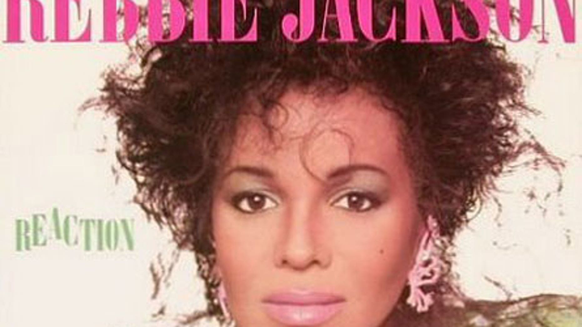 Rebbie Jackson's 'Reaction' album cover.
