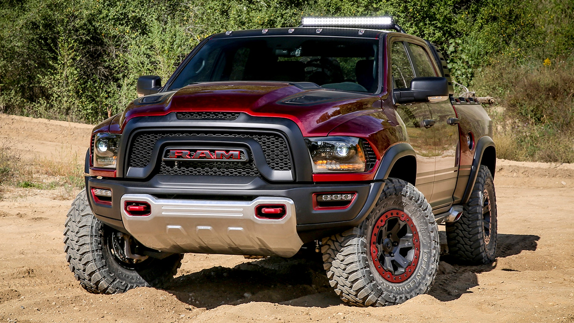 The Ram Rebel TRX concept was revealed in 2016