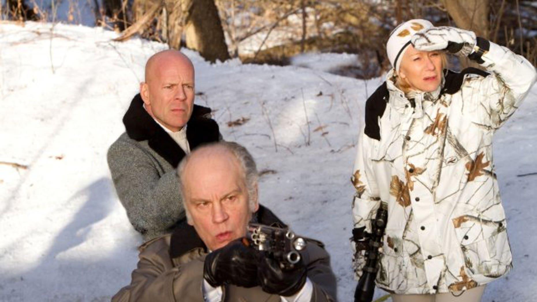 Bruce Willis, John Malkovich, and Helen Mirren. (Summit)