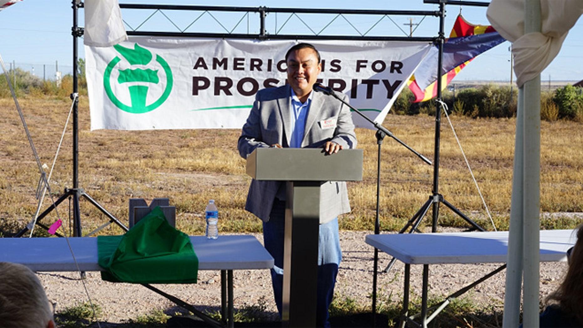 Shown here is Arizona Republican congressional hopeful Shawn Redd.