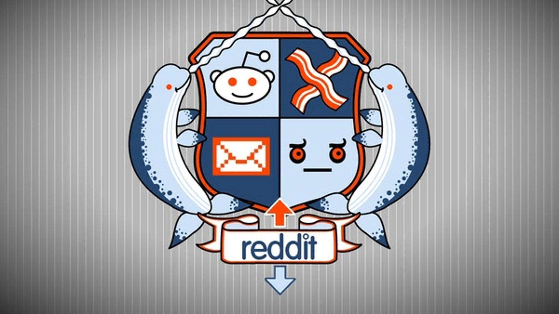 Reddit Coat of Arms artwork by Darel Parker, based on the original design by licenseplate.
