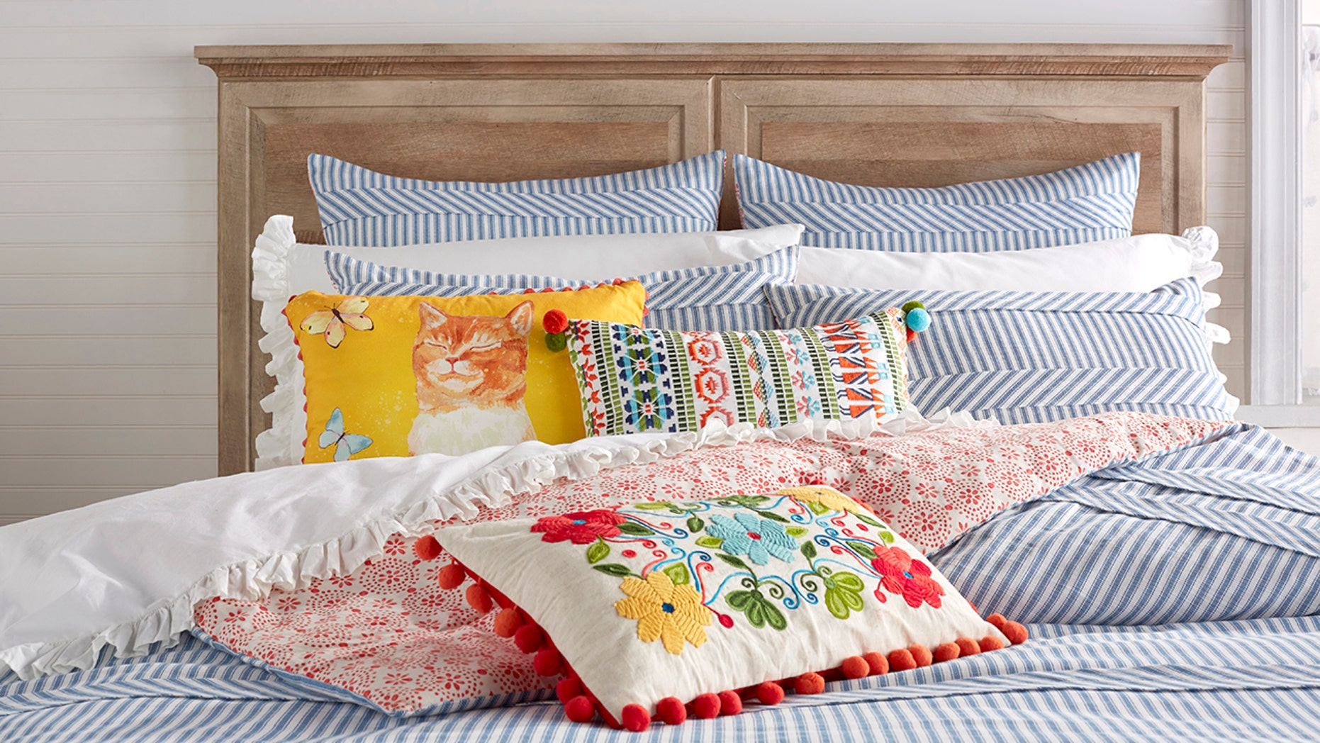 Ree Drummond launches new line of bedding.