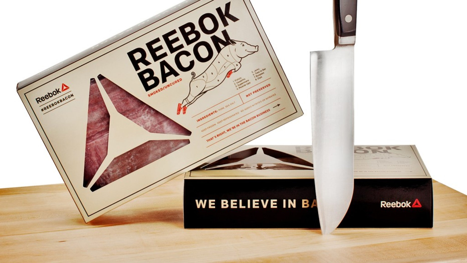 Reebok has concocted Reebok Bacon to woo the CrossFit crowd into the  Paleo Diet.