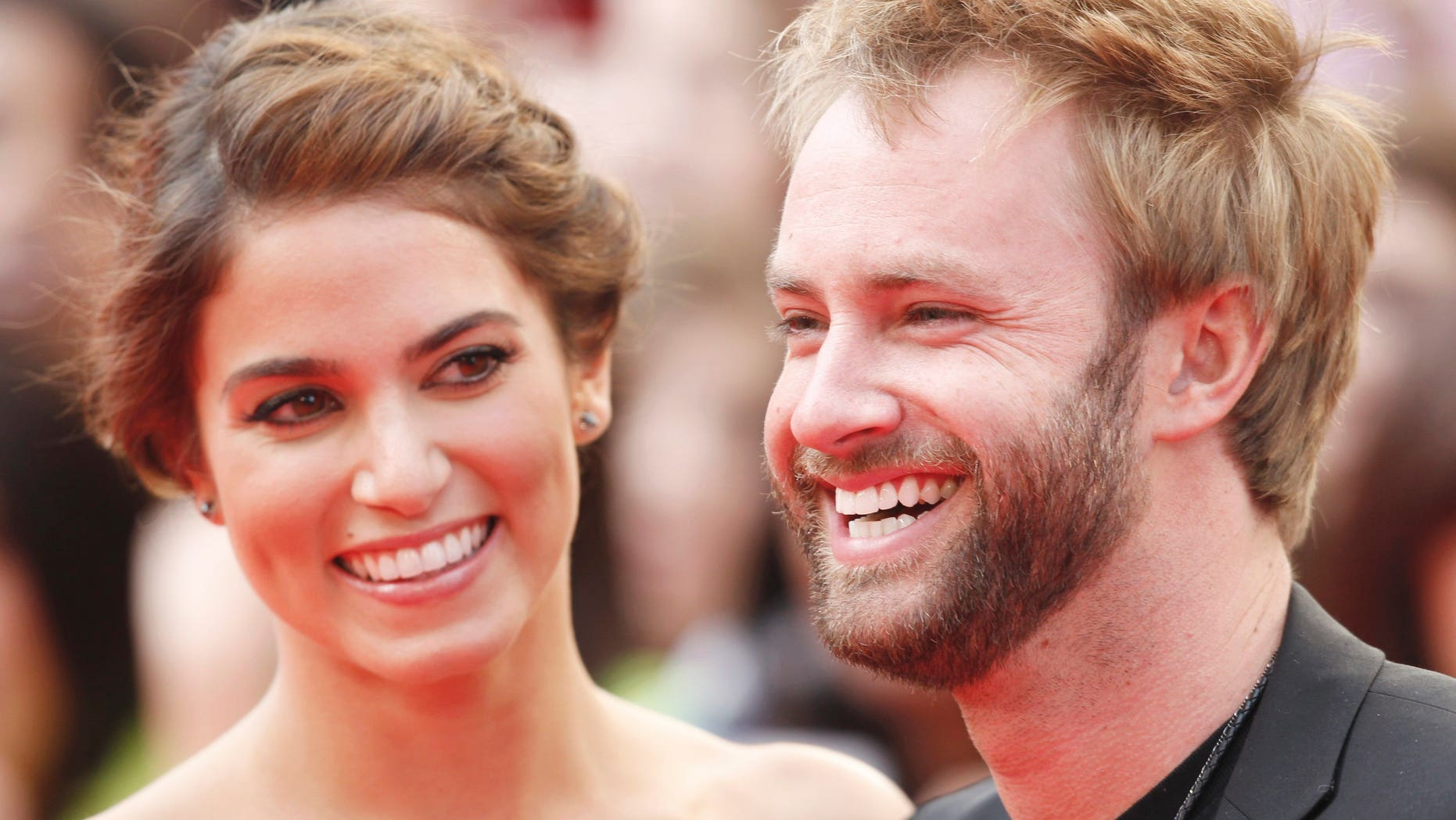 """June 19, 2011. Singer Paul McDonald and actress Nikki Reed from the """"Twilight"""" films arrive at the MuchMusic Video Awards in Toronto."""