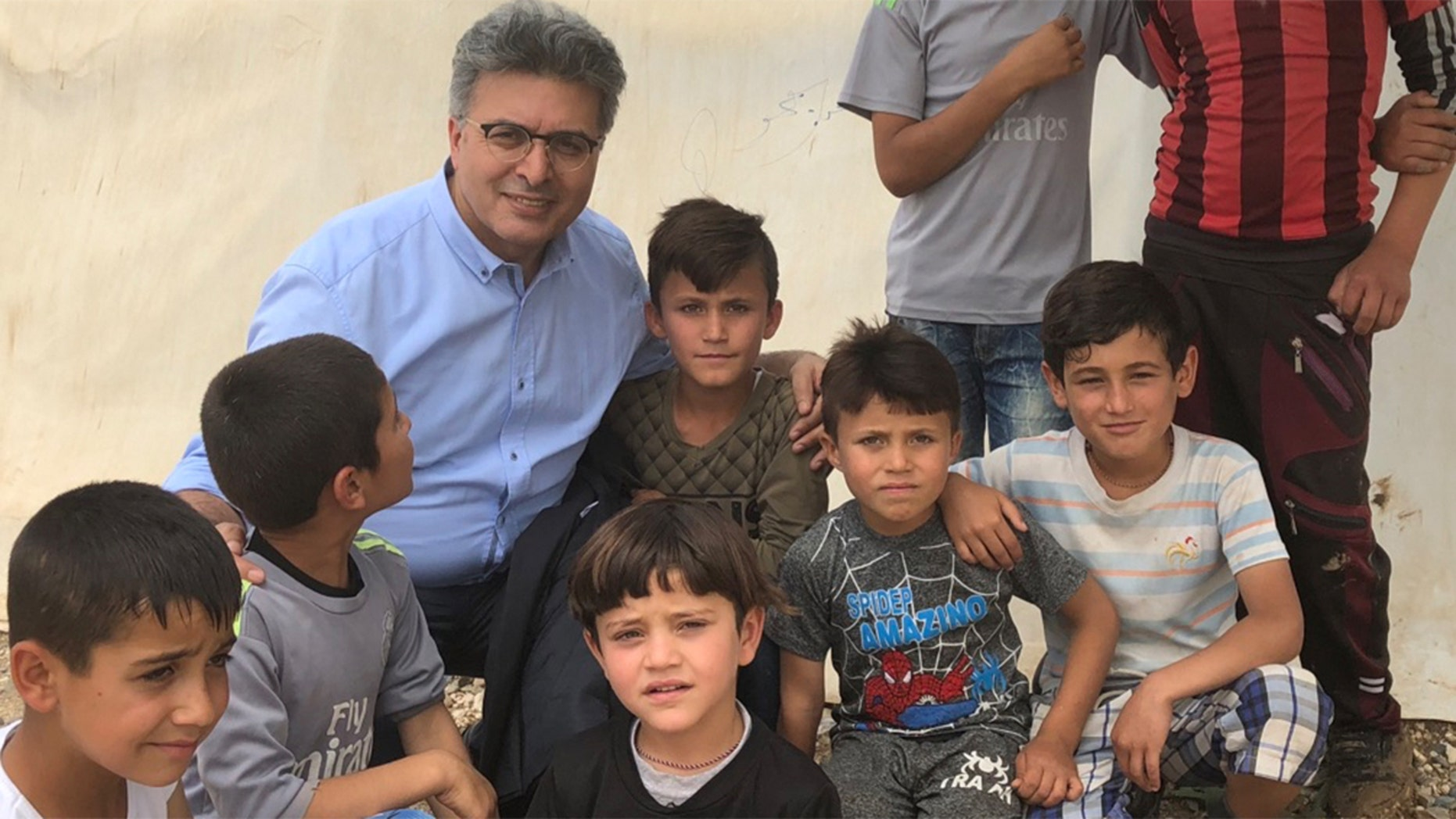 Dr. Kizihan operates a clinic near Stuttgart, Germany, that treats Yazidis who have been traumatized by ISIS.