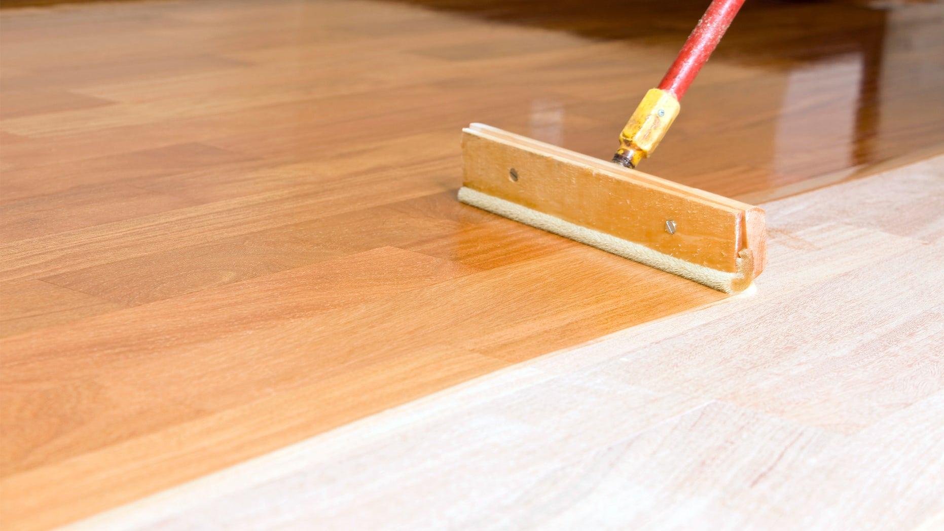 Applying Clear Polyurethane to Hardwood