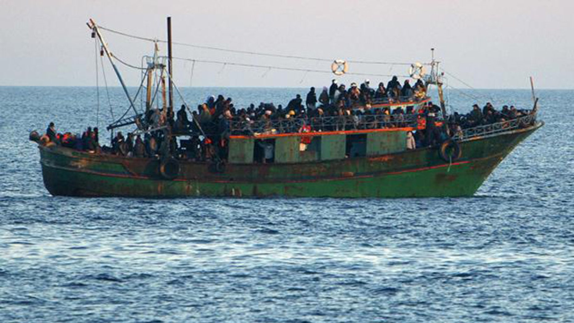 The UN hopes a resettlement plan will stem the tide of refugees crossing the Mediterranean aboard dangerous boats. (Reuters)
