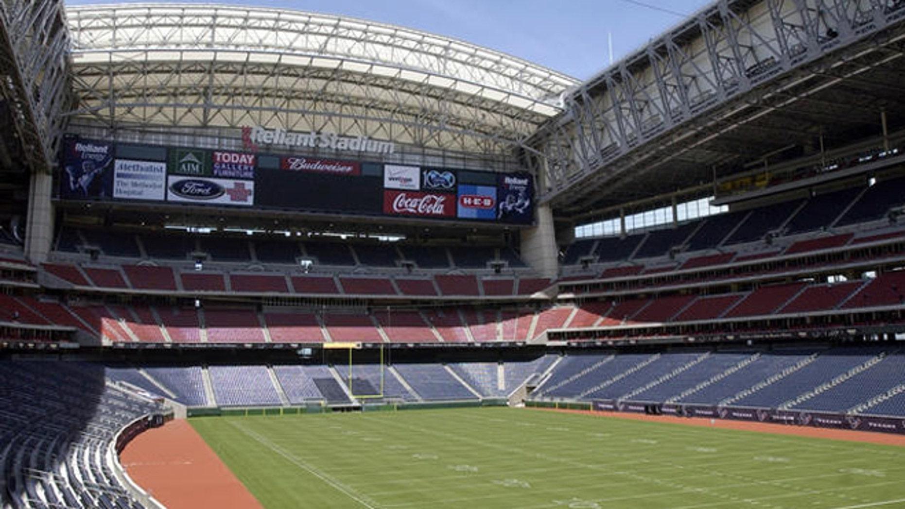 Reliant Stadium in Houston, Texas.