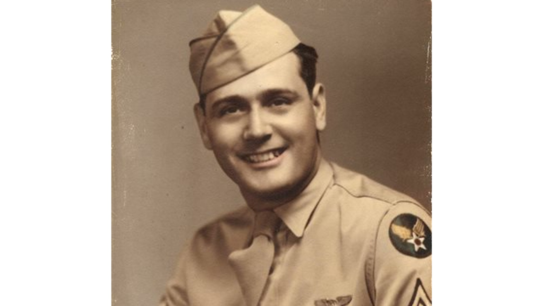 UNDATED: This handout photo provided by the family, shows World War II airman Sgt. Dominick Licari, whose remains were identified nearly 70 years after his plane and two others slammed into a remote, jungle-covered mountainside in the South Pacific.