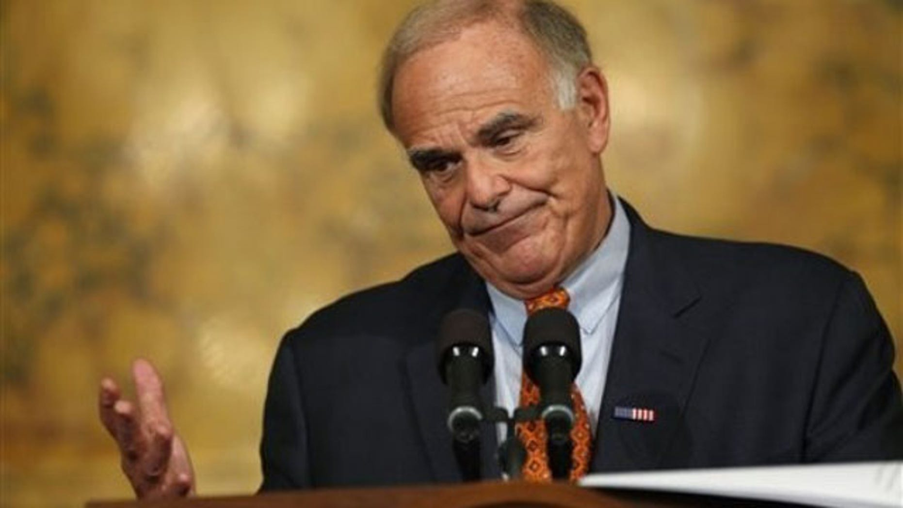 In this Jan. 7 file photo, Pennsylvania  Gov. Ed Rendell speaks during a news conference at the Capitol in Harrisburg, Pa. (AP Photo)
