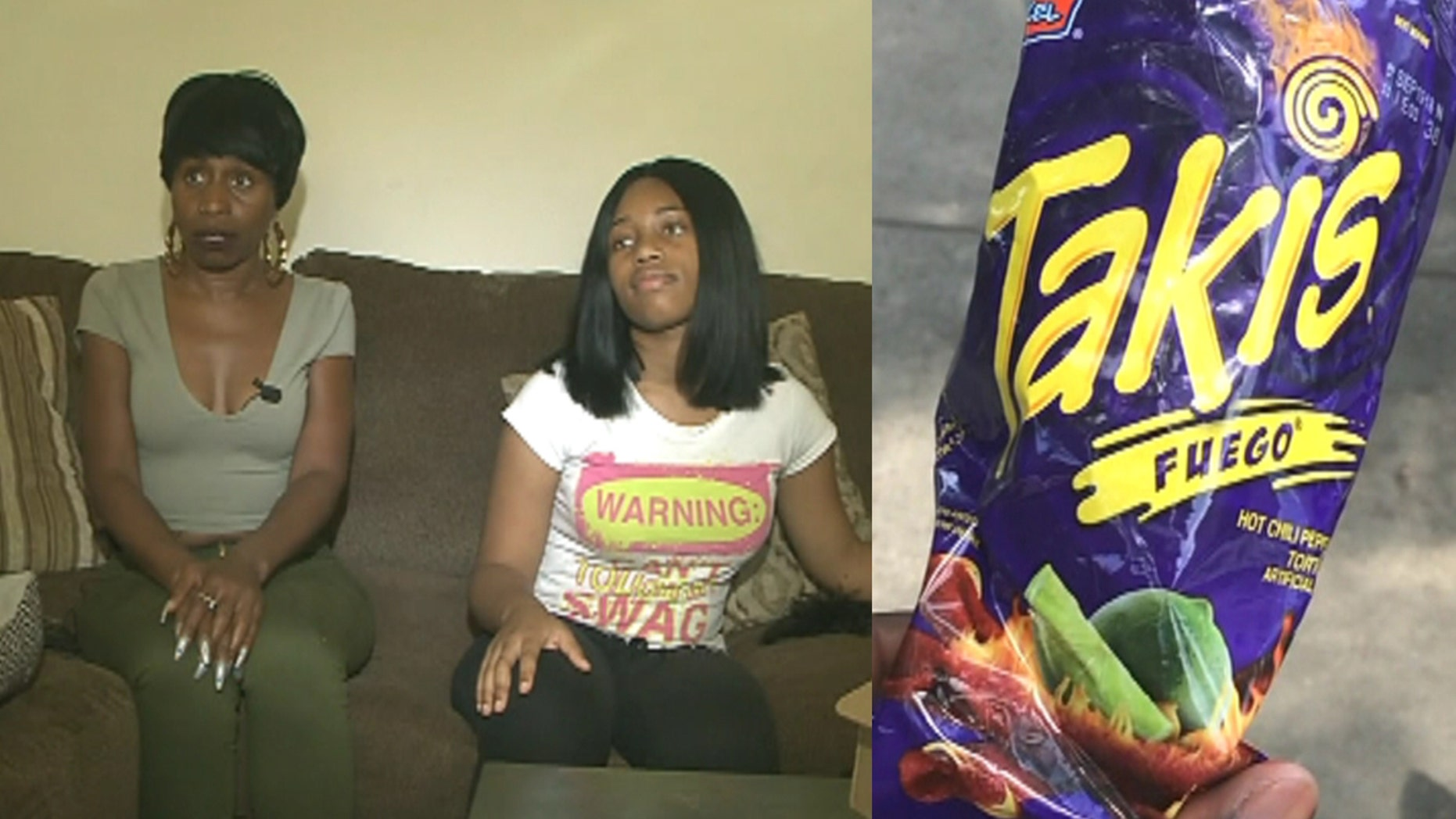 """Rene Craighead of Memphis recently reported that her teenage daughter had to have a cholecystectomy to combat problems that stemmed from her consuming around four """"big"""" bags of hot snacks a week."""