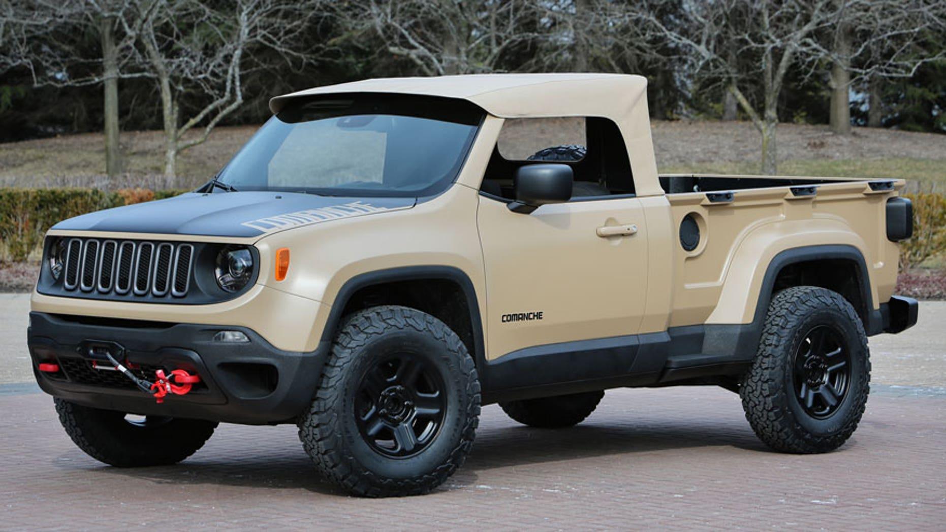 New Jeep Comanche Is A Small Hauler Fox News