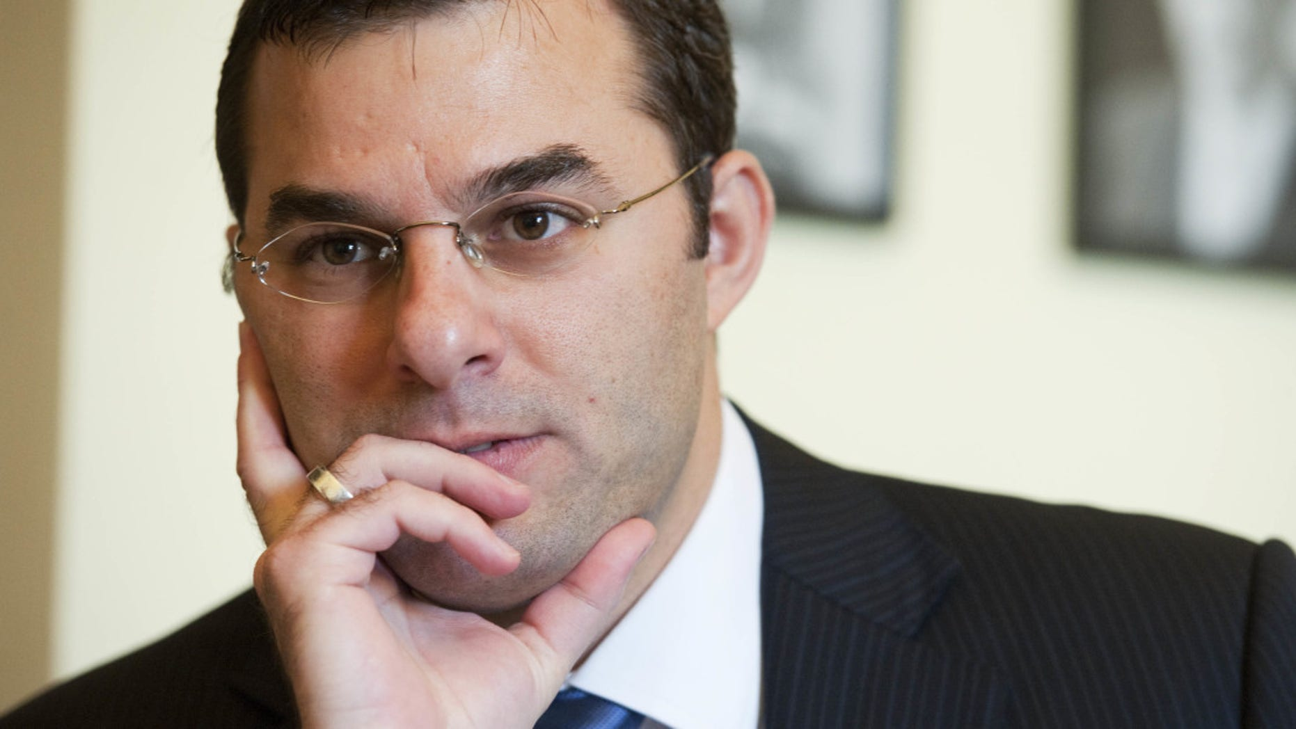 Rep. Justin A. Amash, R-Mich., leader of the House Freedom Caucus (AP)