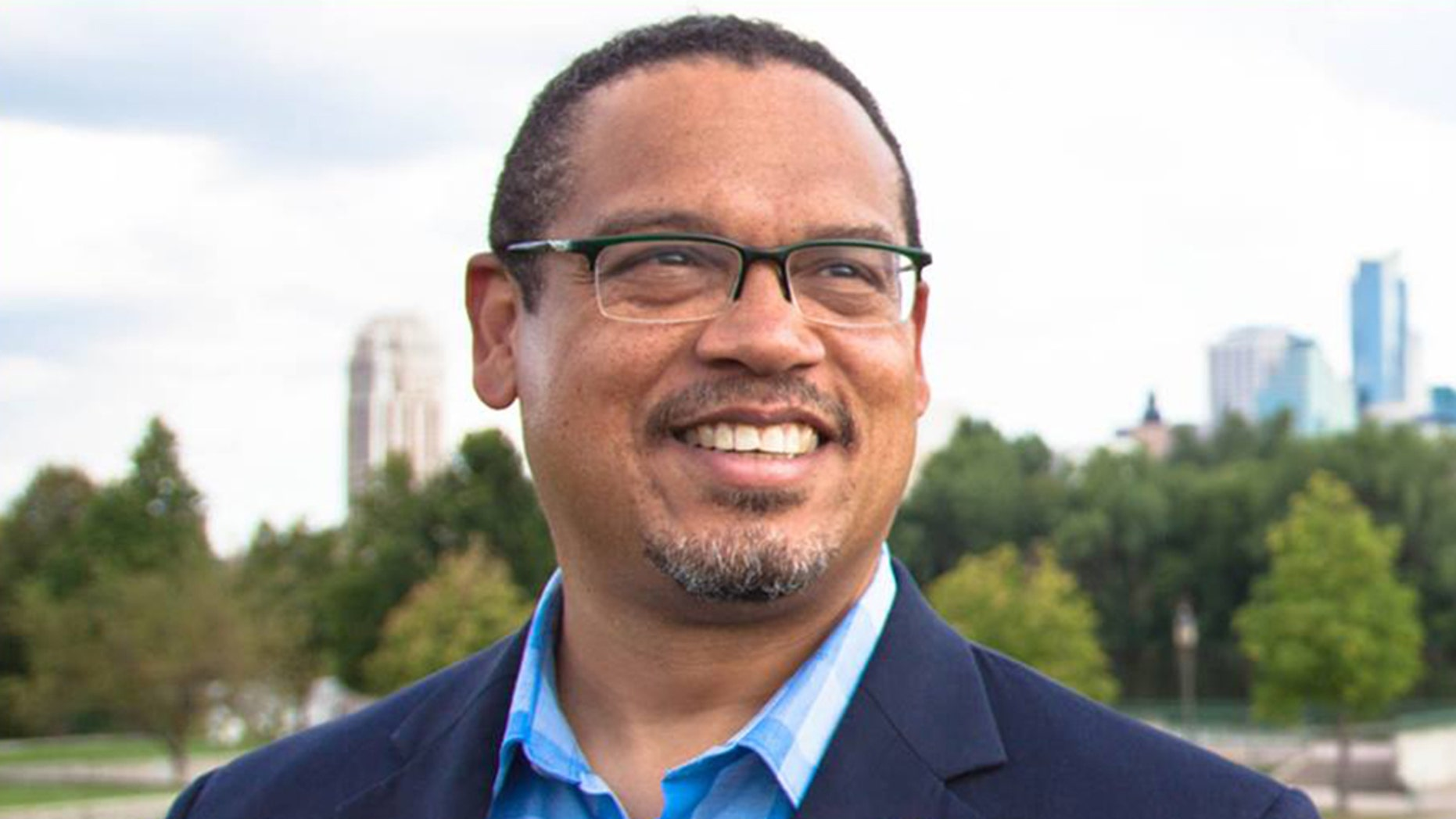 Rep. Keith Ellison has been accused of emotional and physical abuse by a former girlfriend. He said it never happened.