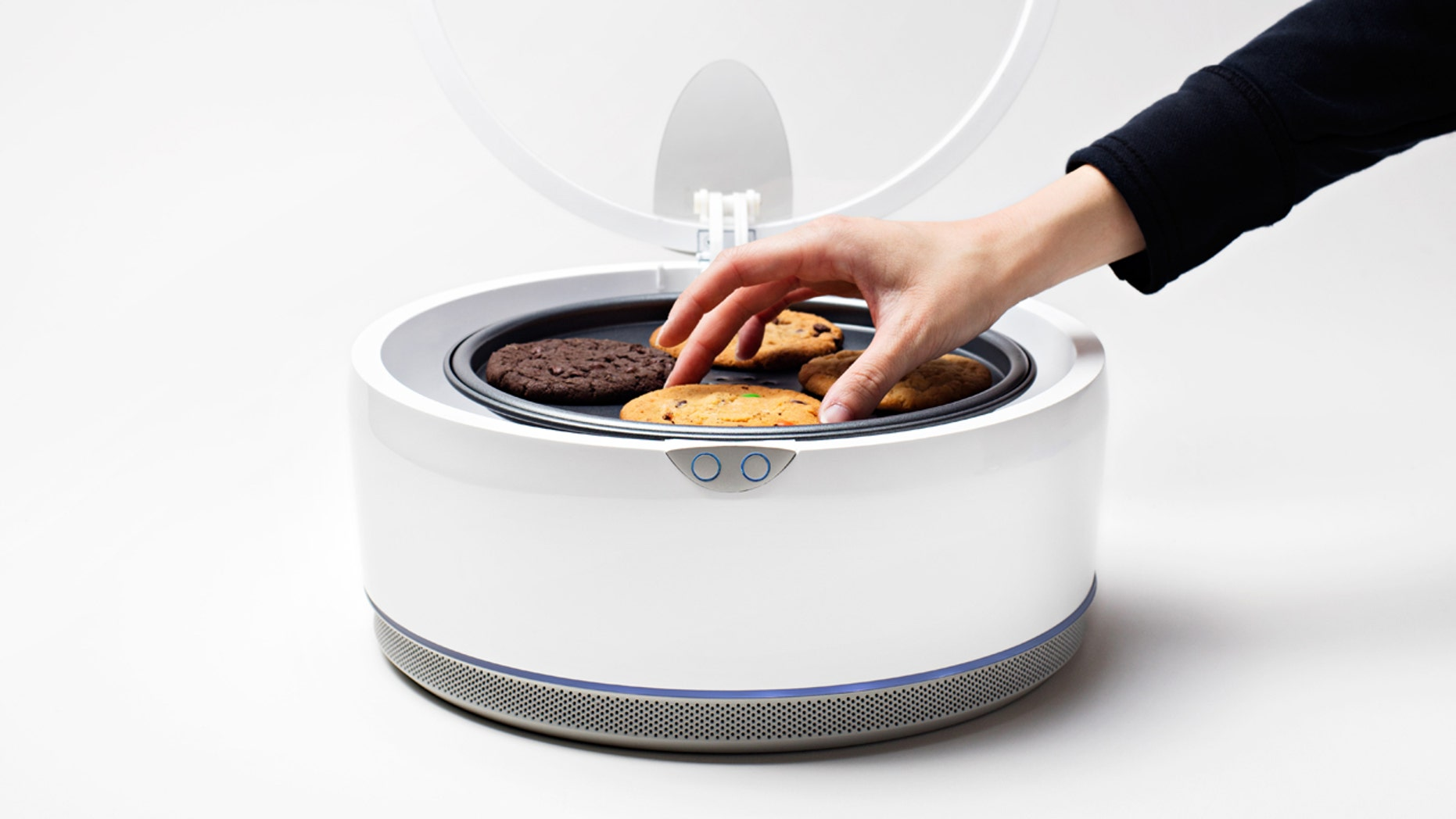 This countertop oven will bake gourmet cookies in under 10 minutes.