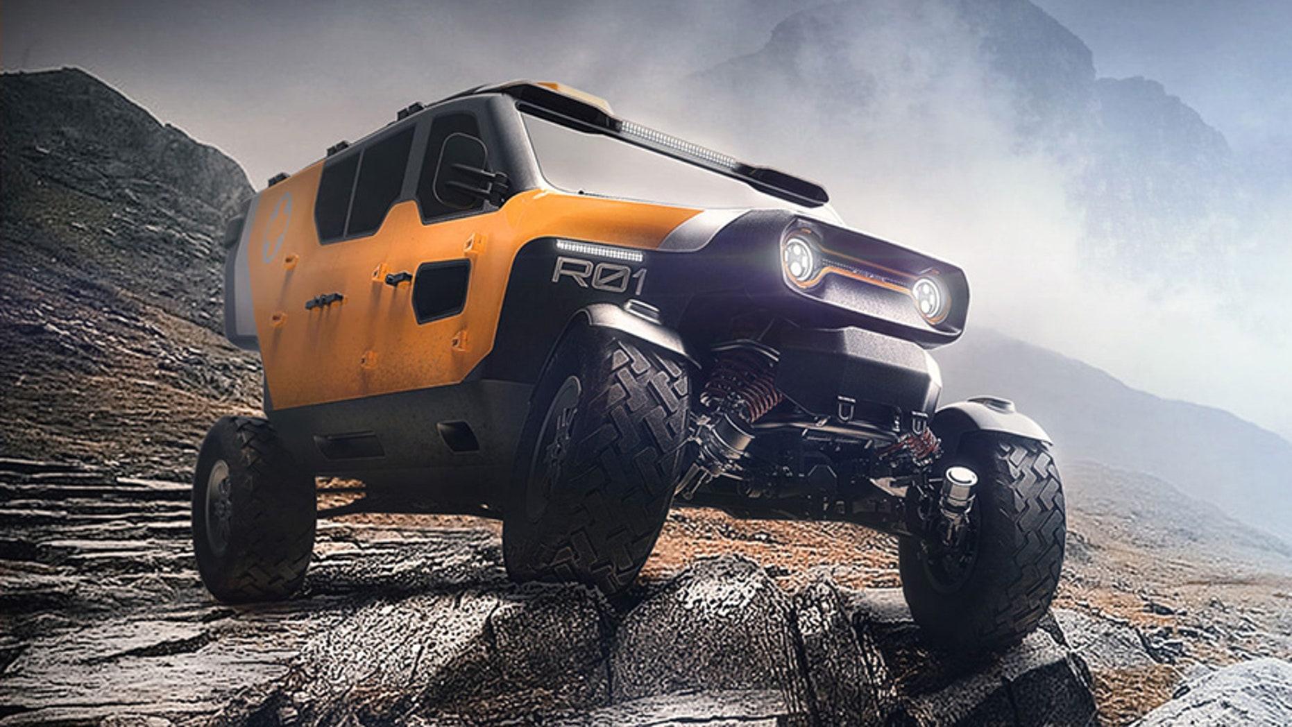 Retro Futuristic Off Road Truck To The Rescue Fox News
