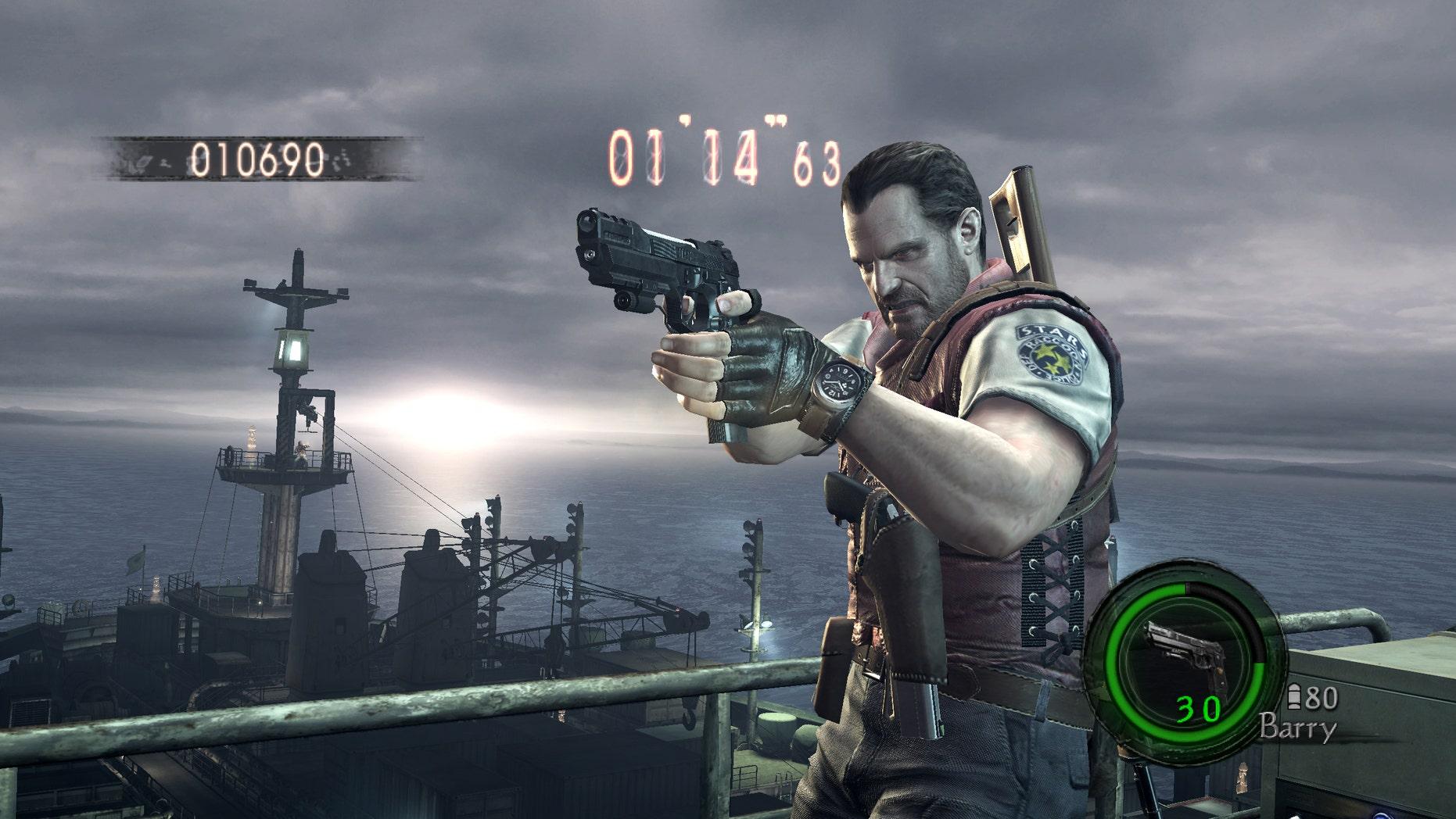"""""""Resident Evil 5"""" screenshot (Capcom)"""
