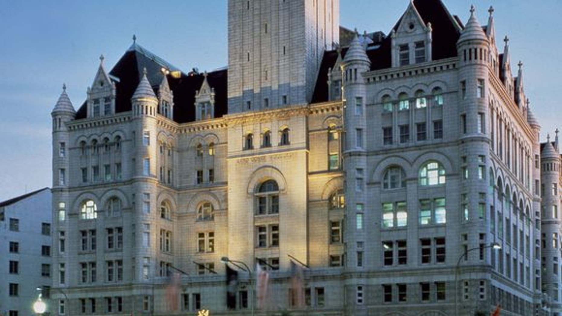 The 270-foot-high observation deck of the Clock Tower at the Old Post Office affords some of the best views of the nation's capita