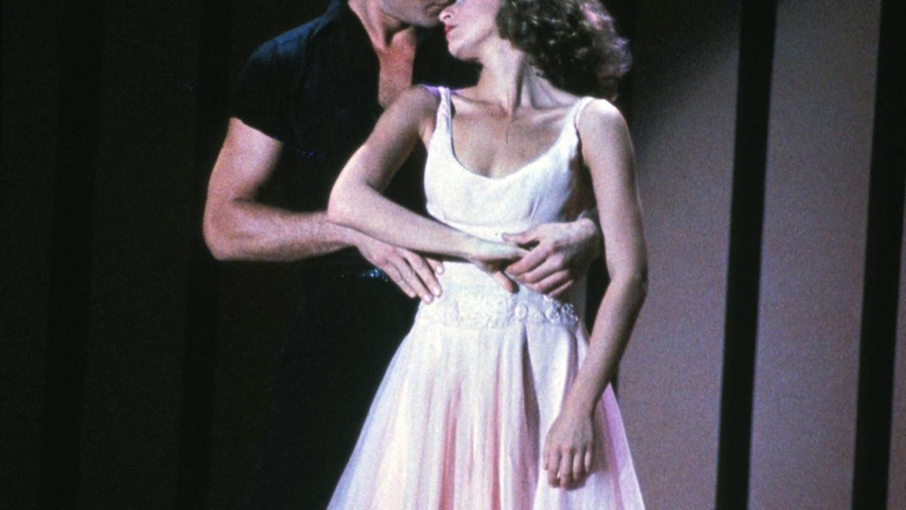 "The iconic film that made them both stars: Patrick Swayze and Jennifer Grey starred in 1987's ""Dirty Dancing."""