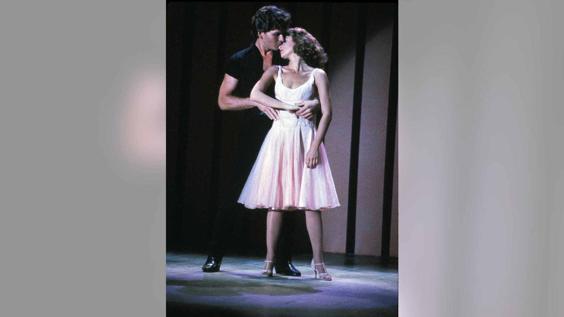 """The iconic film that made them both stars: Patrick Swayze and Jennifer Grey starred in 1987's """"Dirty Dancing."""""""