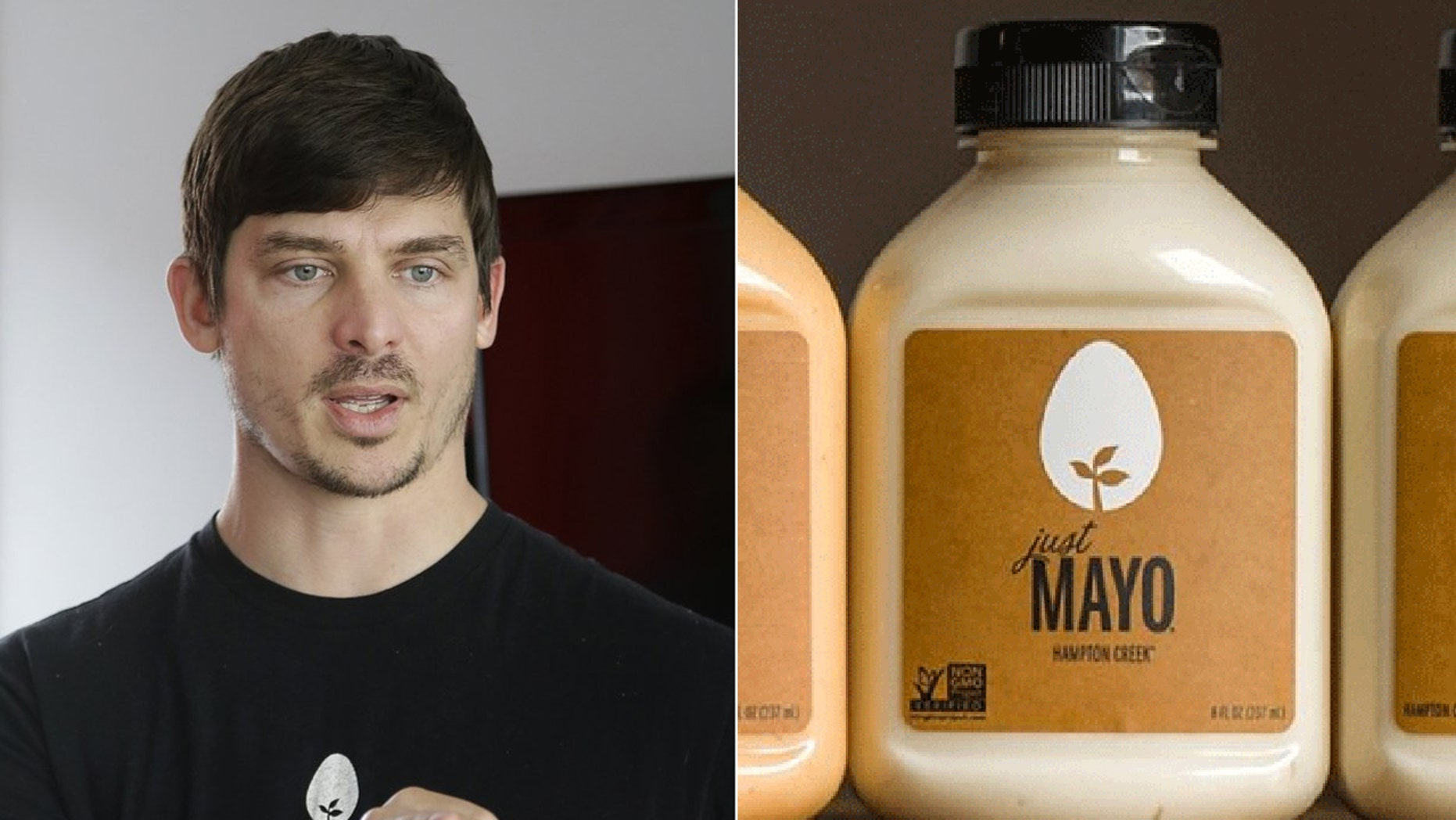 Hampton Creek CEO Josh Tetrick is under fire for possibly inflating sales of Just Mayo, a vegan mayonnaise spread.