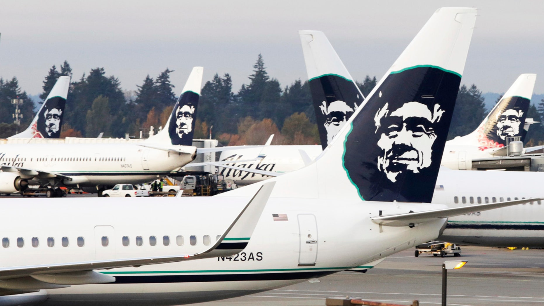 Alaska Airlines is cleaning up a very messy cargo hold situation.