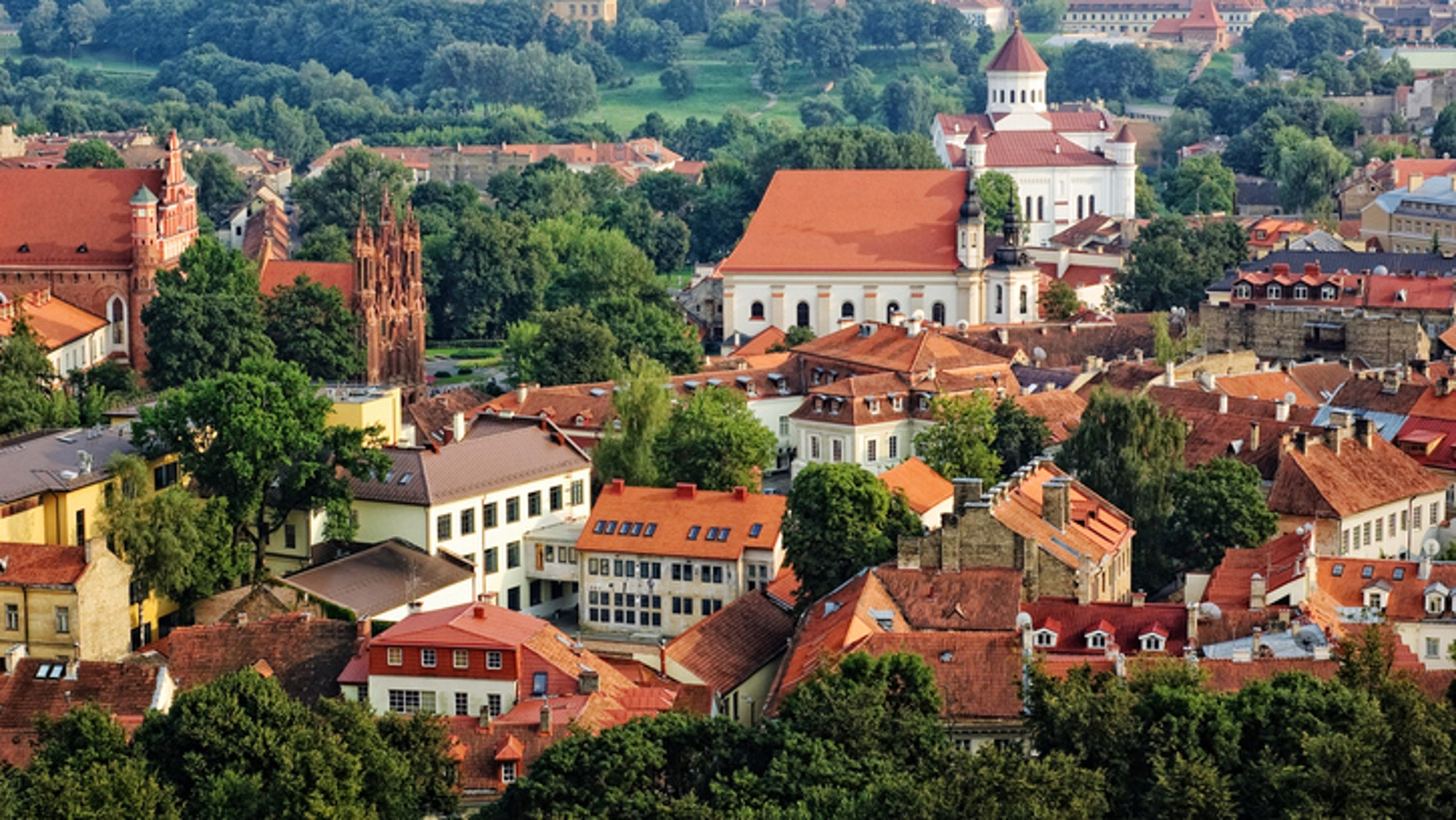 Lithuania's capital Valnius, is also its largest city. The country has just under 3 million residents.