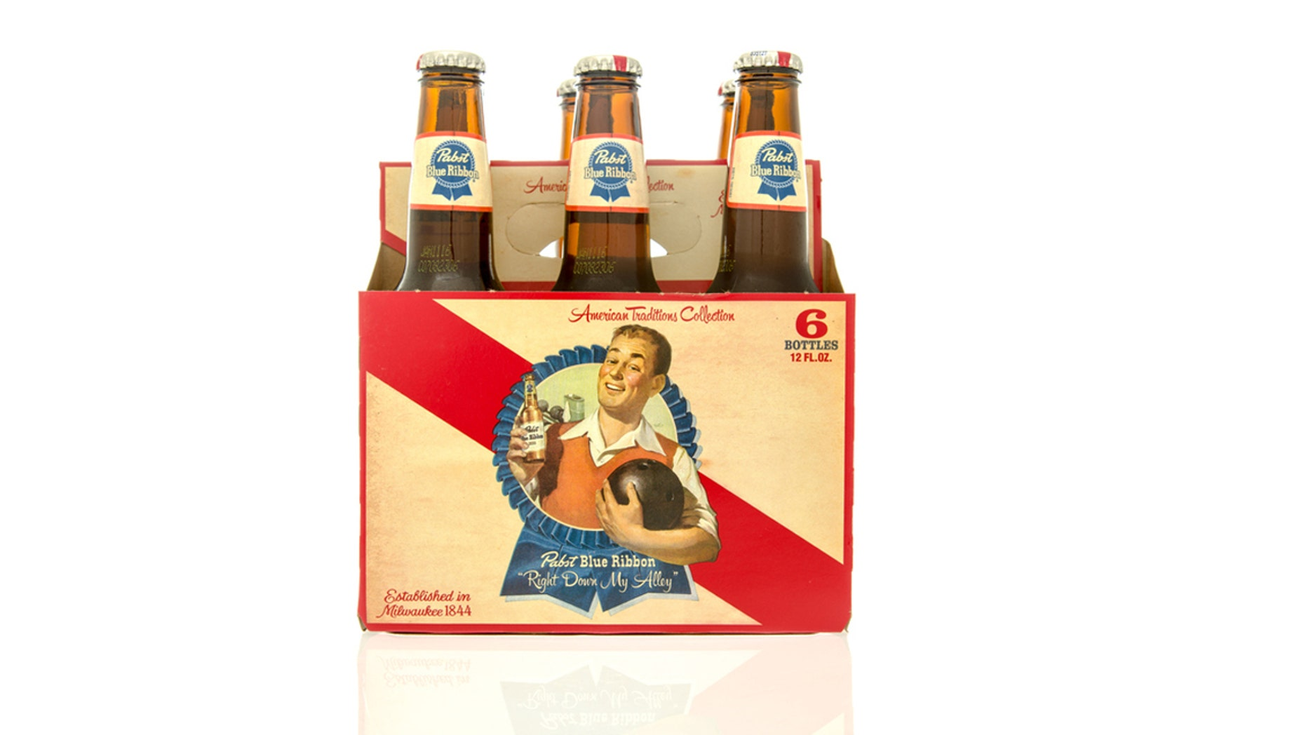There's a long history behind Pabst Blue Ribbon beer.